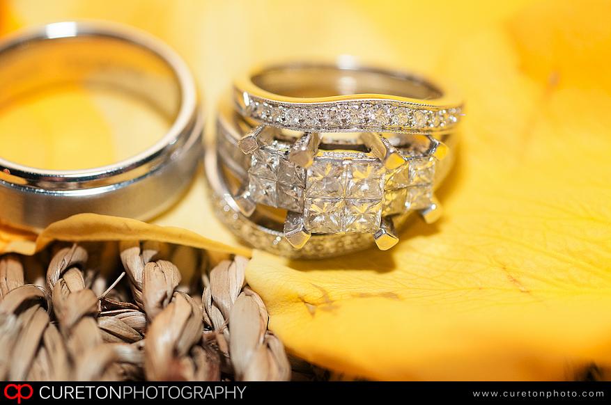 Talisha's beautiful wedding ring.