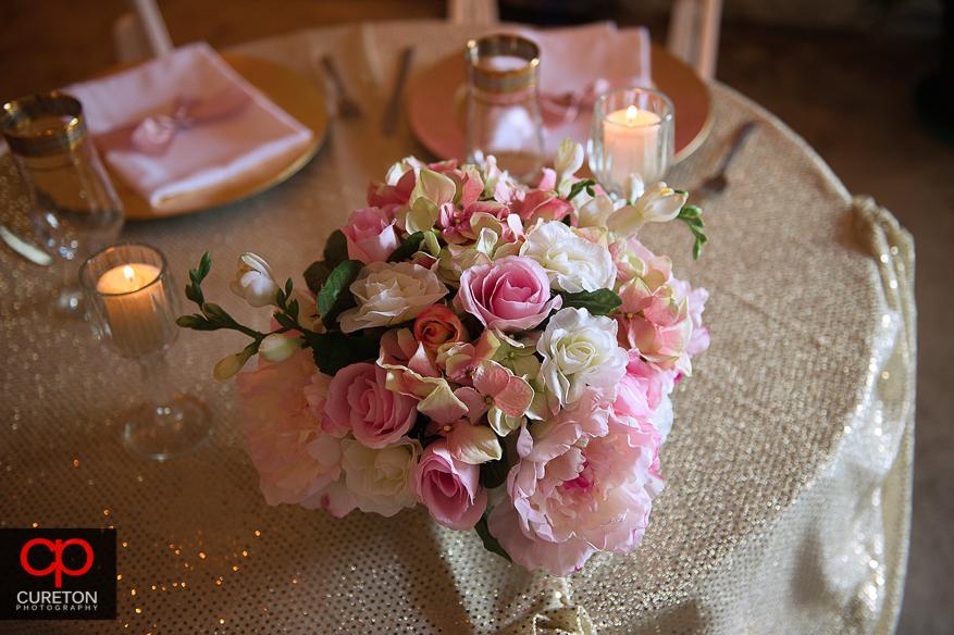 Brides bouquet .