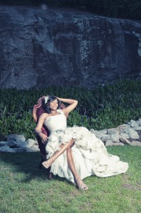 Selection from the bridal session portfolio of Cureton Photography.