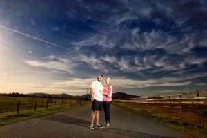 Selection from the Engagement Session portfolio by Greenville photographer Cureton Photography.