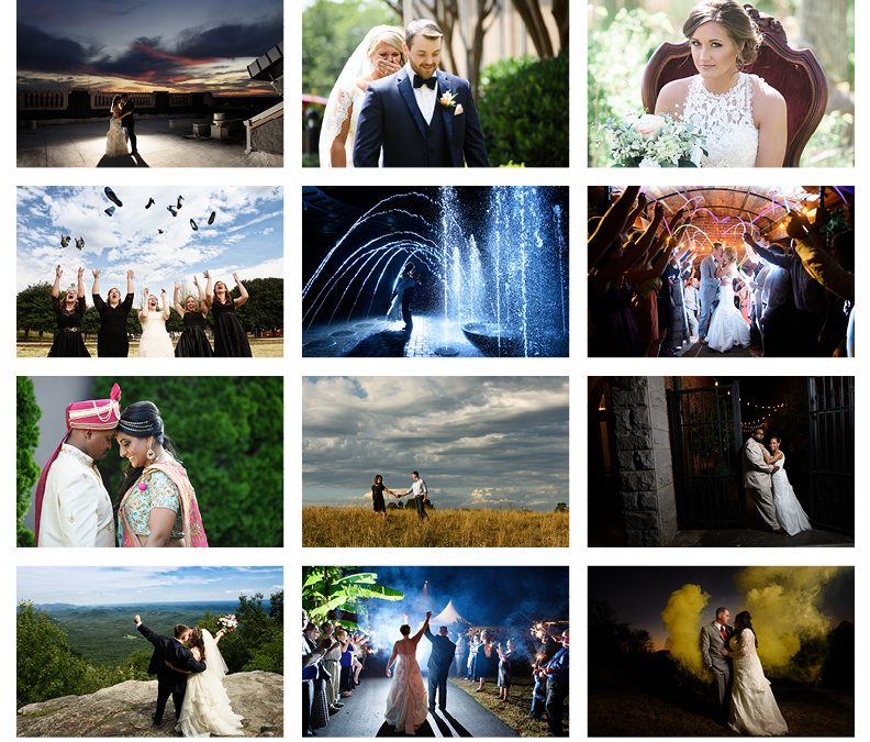 Best of 2016 Greenville Wedding Photography