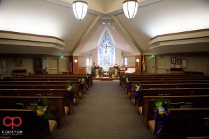 St Matthew Catholic church in Charlotte NC.