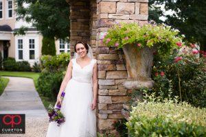 Bride after wedding.