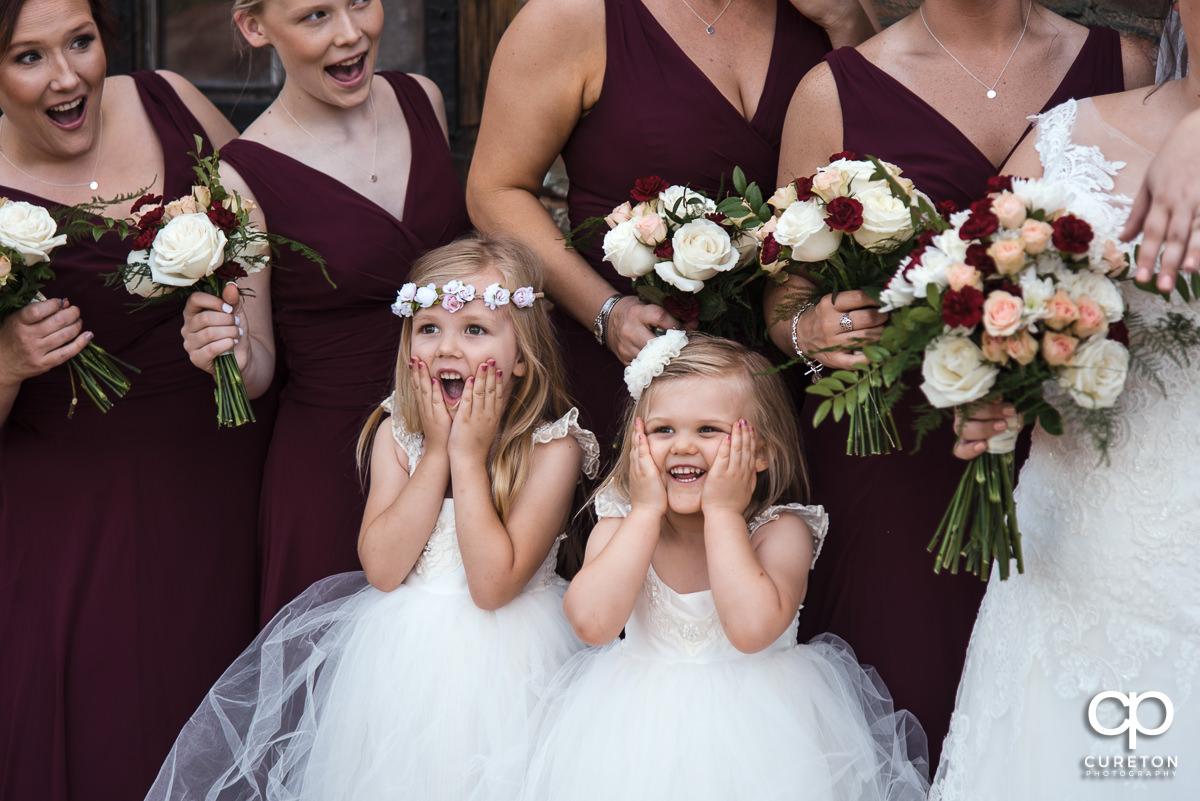 Flowergirls.