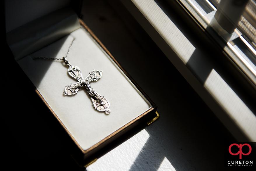 Bride's cross.