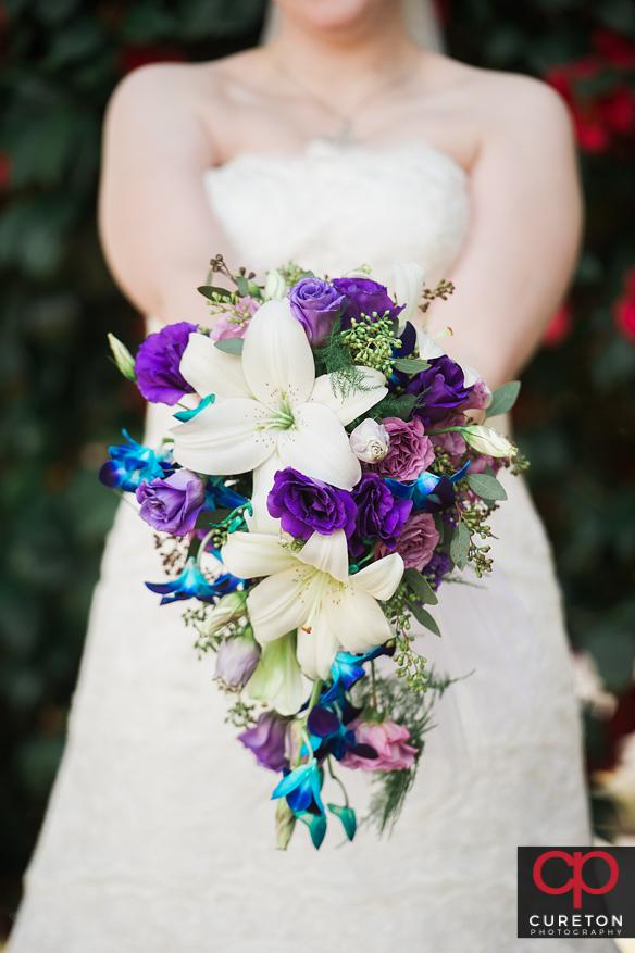 Closeup of the bouquet.