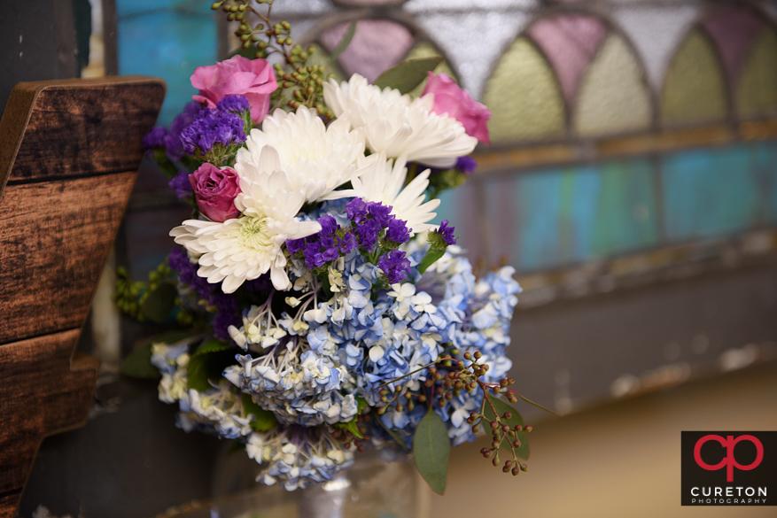 Flowers by Renee Burroughs Designs.