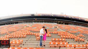 Clemson University Stadium engagement.