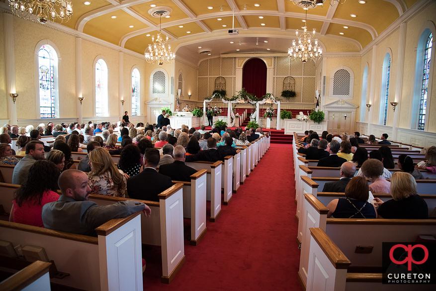 Mountain View Baptist Church in Cowpens,SC