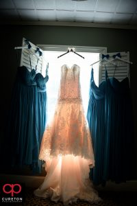 Bridal dress.