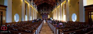 Daniel chapel wedding ceremony.