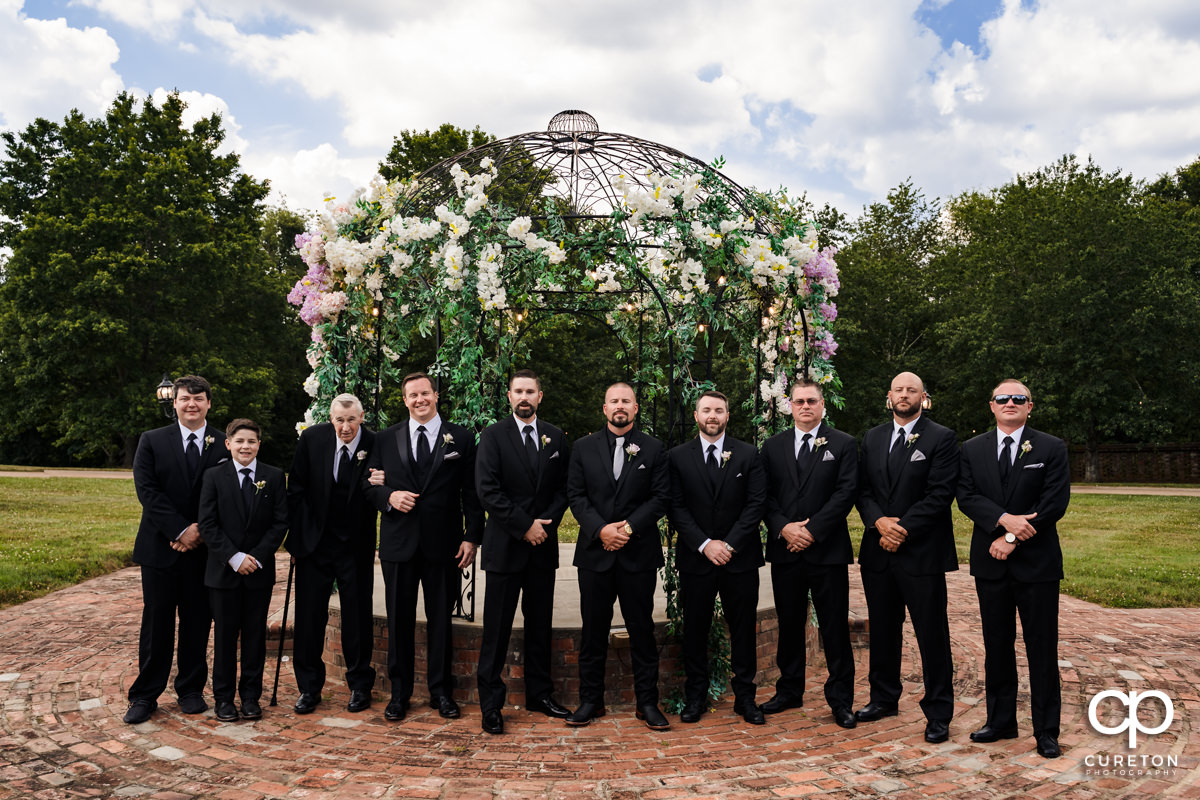 Groom and the groomsmen.