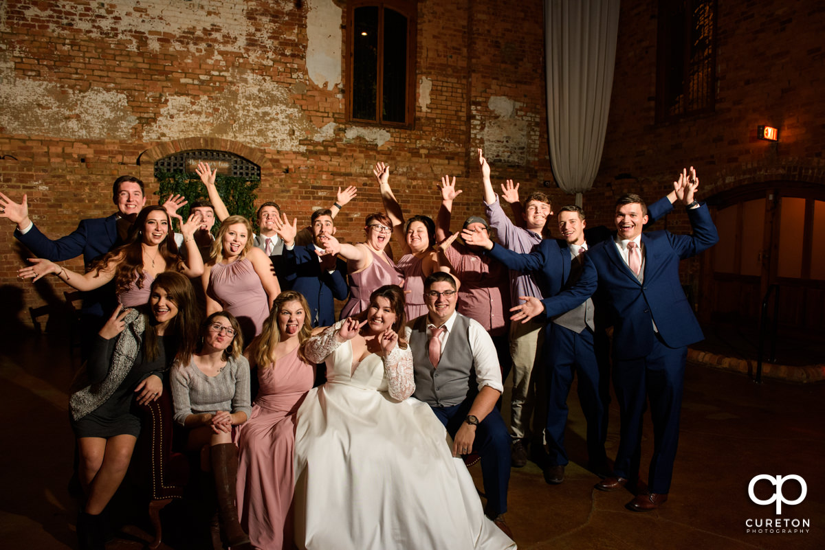 Wedding guests.