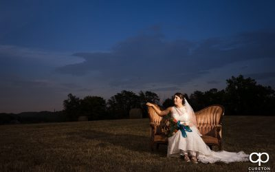 Famoda Farm bridal session in Taylors,SC – Amy
