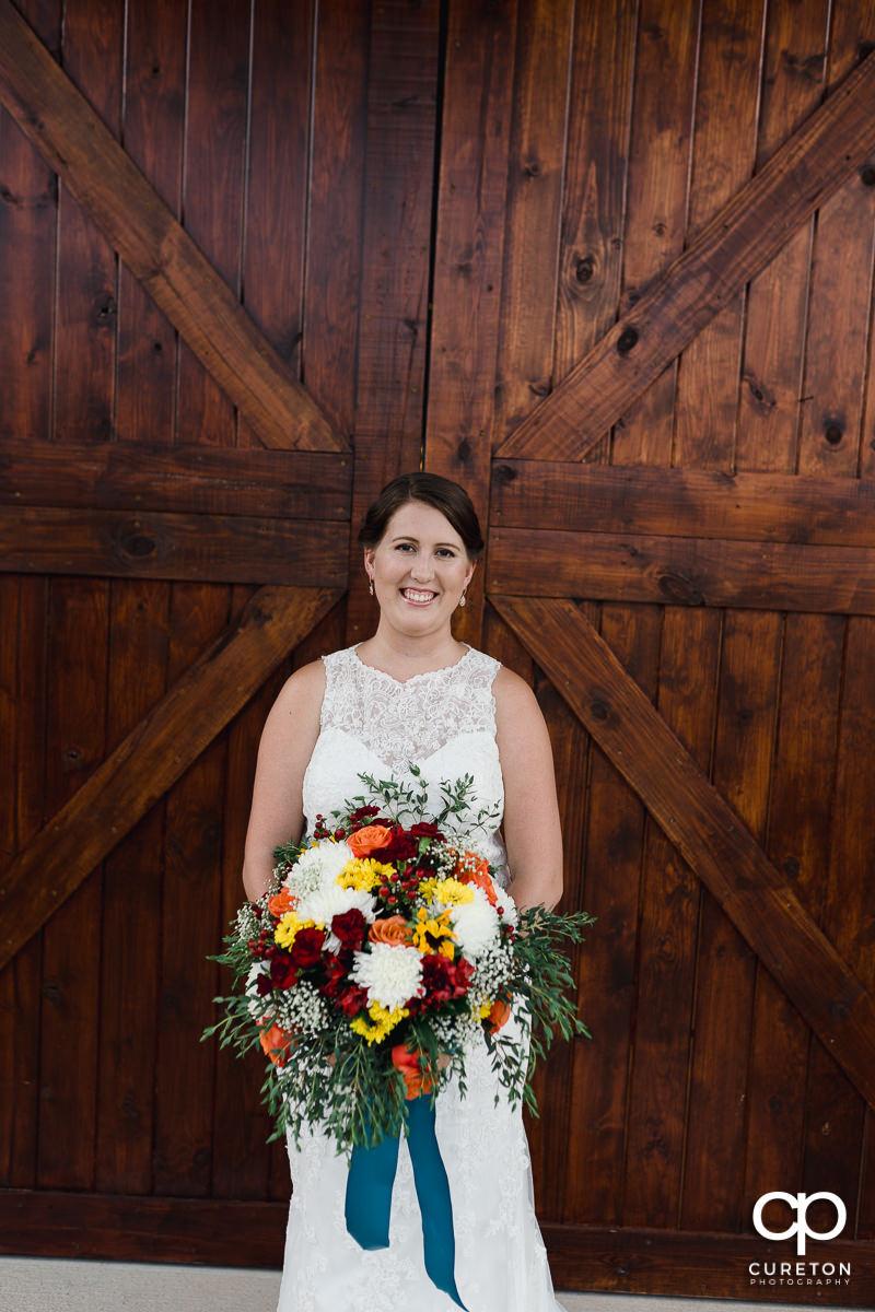Bride at Famoda Farms.