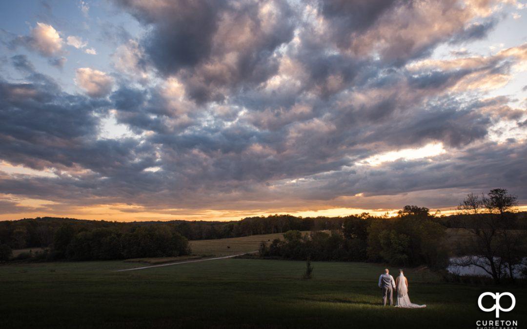 Famoda Farm wedding in Taylors,SC – Amy + Ryan