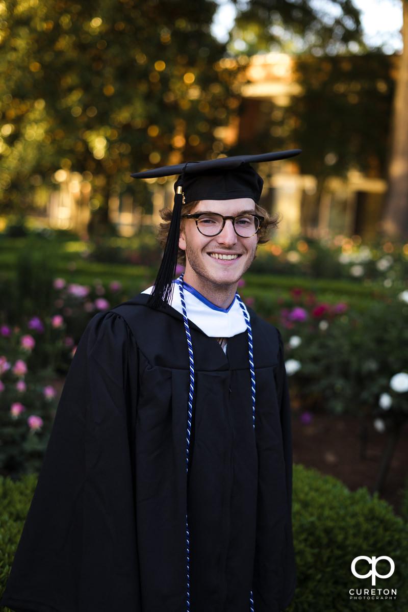 Furman graduate.