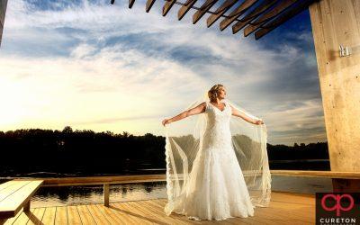 Furman University Bridal – Lindsey – Greenville Bridal Session