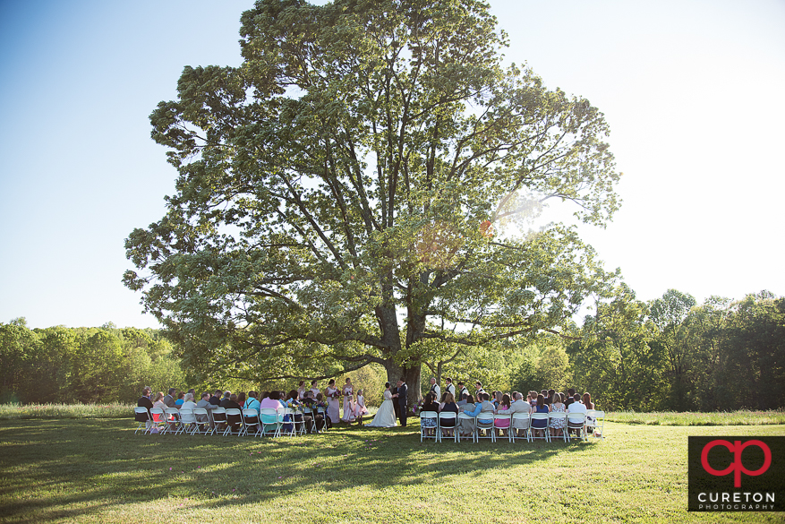 Amazing landscape for a farm wedding.