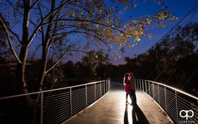 Autumn Falls Park Engagement Session – Courtney + Chaz