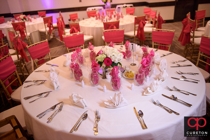 Tablescape by Berbank Events in Spartanburg,SC.