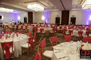 Embassy Suites Greenville ballroom.