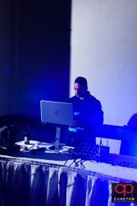 DJ Desi of Next Level Entertainment.