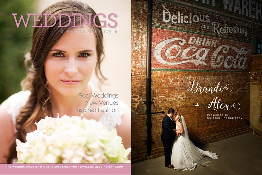 Wedding Magazine Cover – Greenville SC Photographer