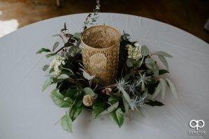 Wedding table centerpiece.