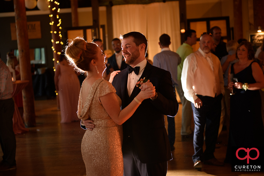 Groom dancing with his sister.