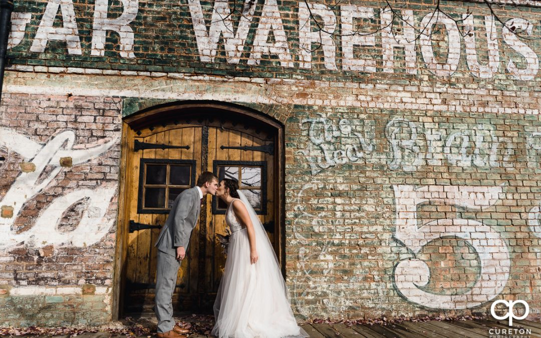 Fall Wedding at The Old Cigar Warehouse in Greenville – Madison + Wells