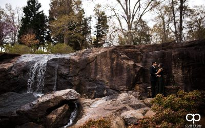 Cleveland Park and Rock Quarry Garden Engagement Session – Greenville, SC – Shivani+Shawn