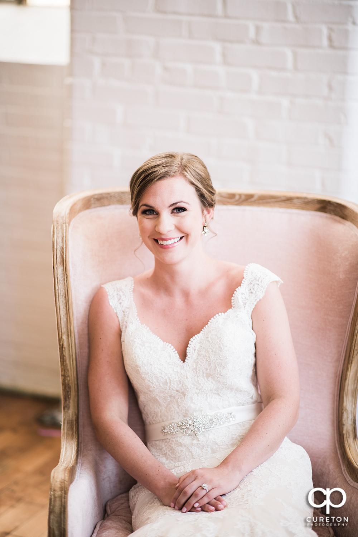 Bride at the Taylors Mill.