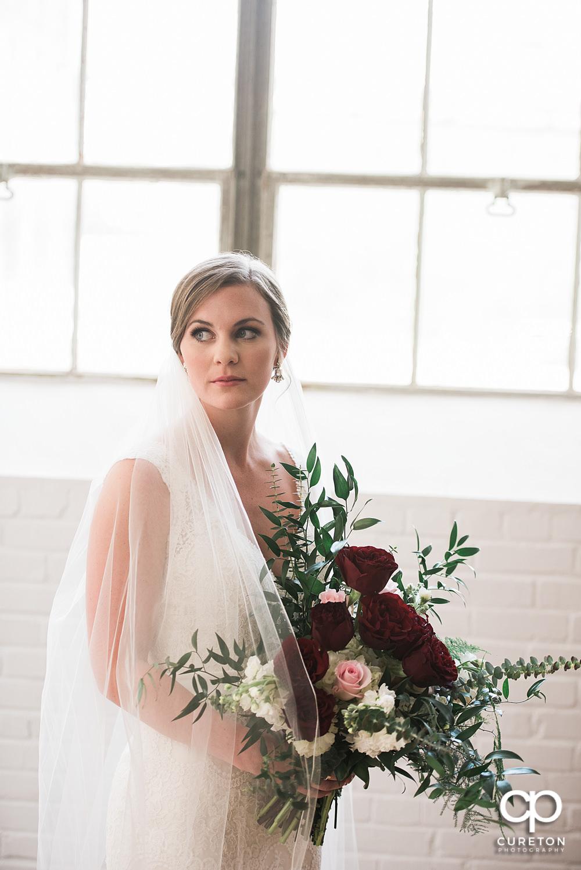 Beautiful bride at Southern Bleachey.