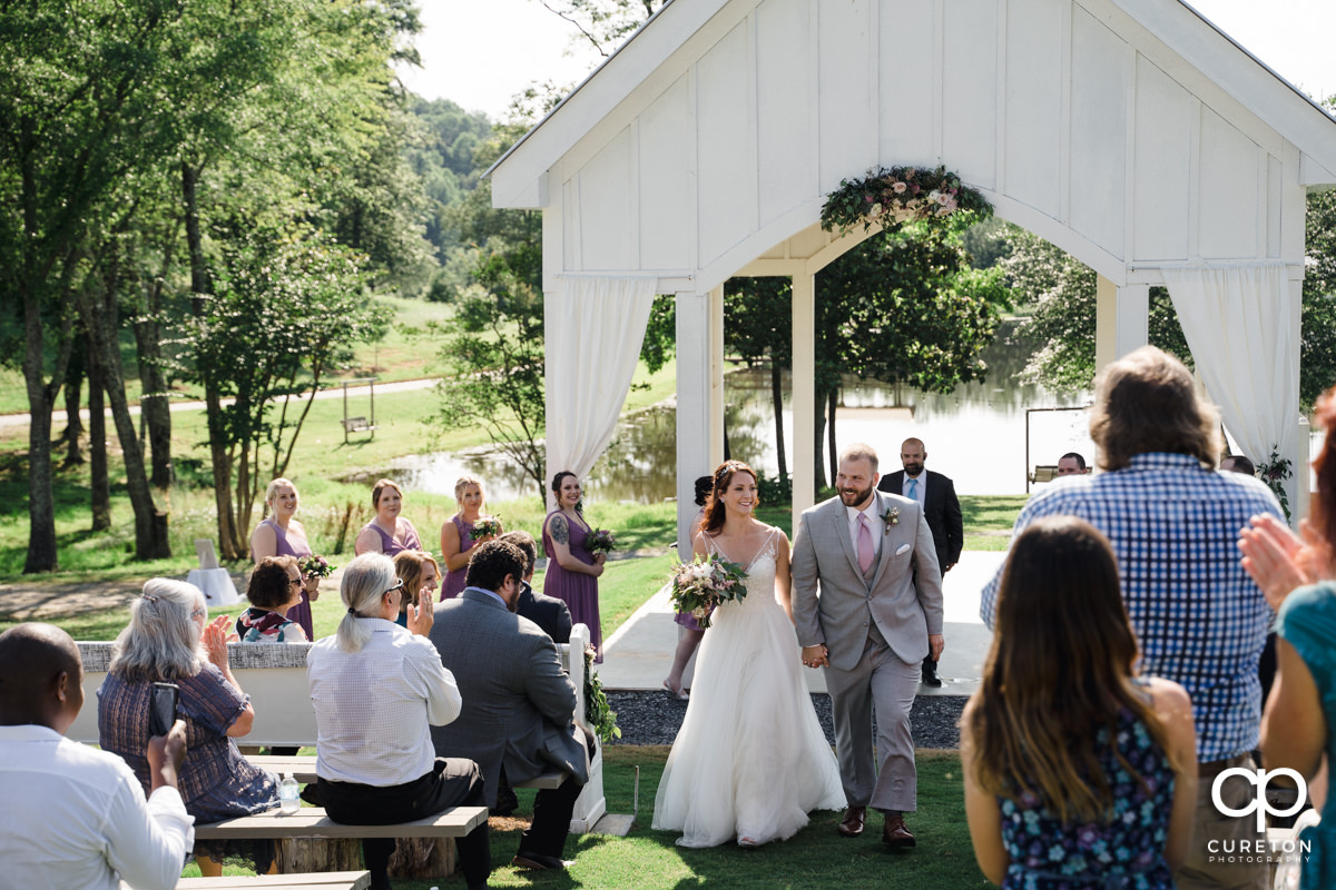 South Wind Ranch wedding ceremony.