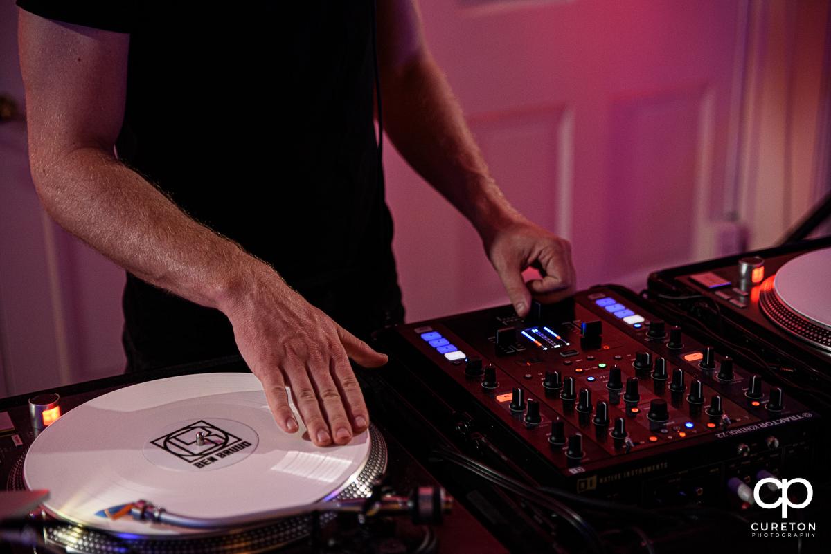 DJ Ben Bruud.