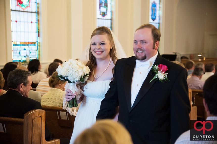 Nick and Tiffany's Sumter,SC wedding.