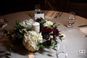 Floral table centerpiece.