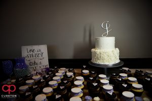 Wedding cake by buttercream bakehouse.
