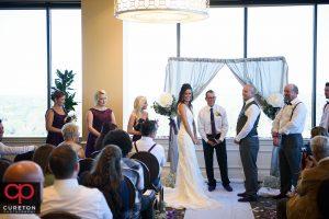 Commerce club wedding ceremony.