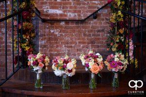Bridal flowers from Greenville,SC florist Renee Burroughs Design.