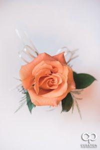Single rose centerpiece.