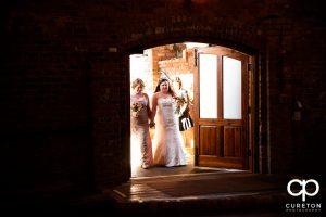 Bridal entrance.