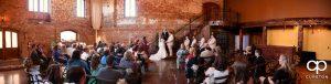 Old Cigar Warehouse wedding ceremony.