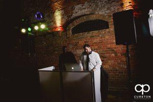 Greenville wedding DJ Uptown Entertainment.