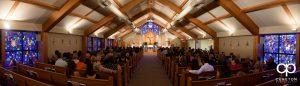 Saint Anthony's wedding ceremony.