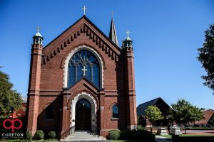 St. Mary's Catholic Church in downtown Greenville.